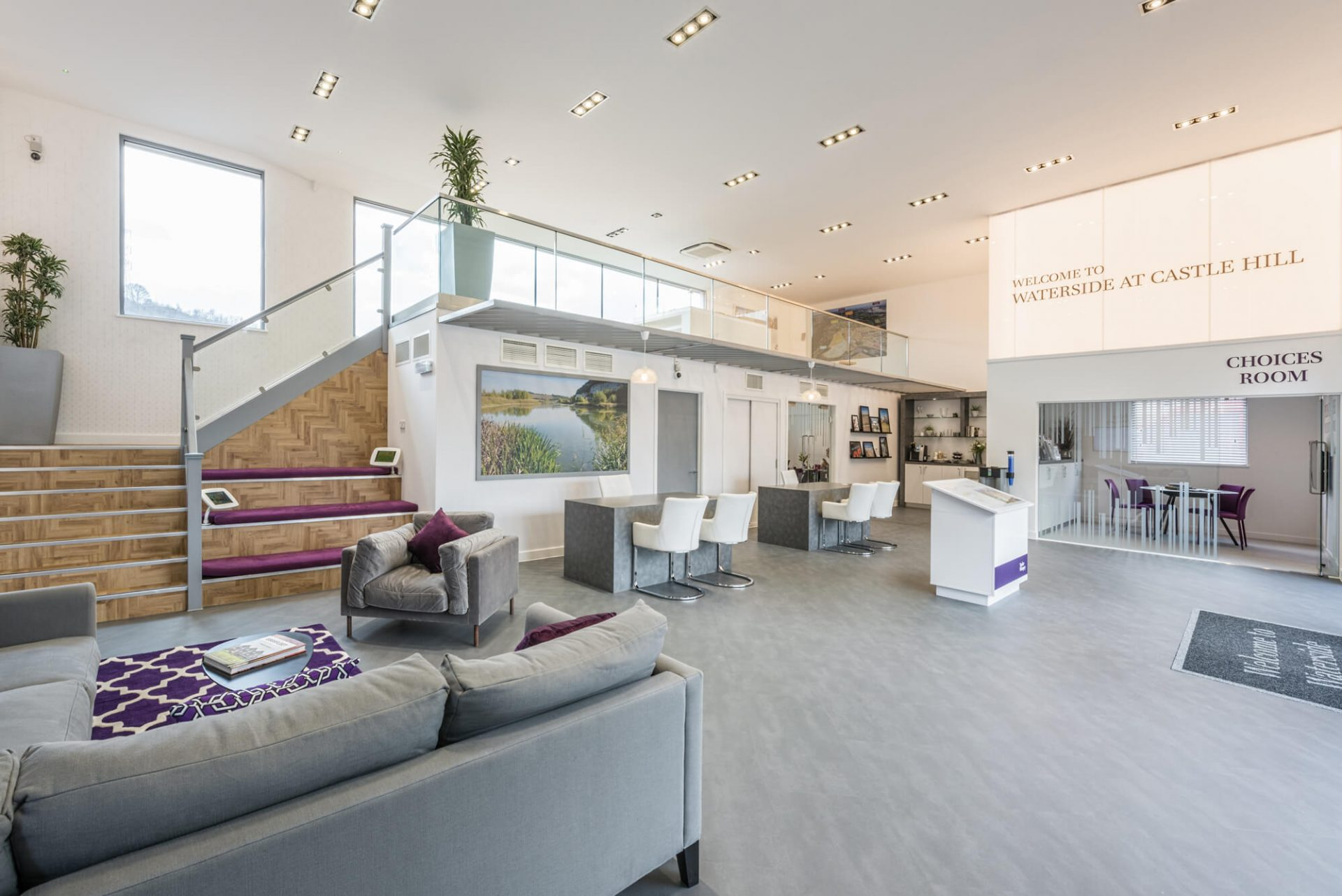 James Mercer's pick for #WorldPhotoDay, the marketing suite at Taylor Wimpey's Castle Hill development
