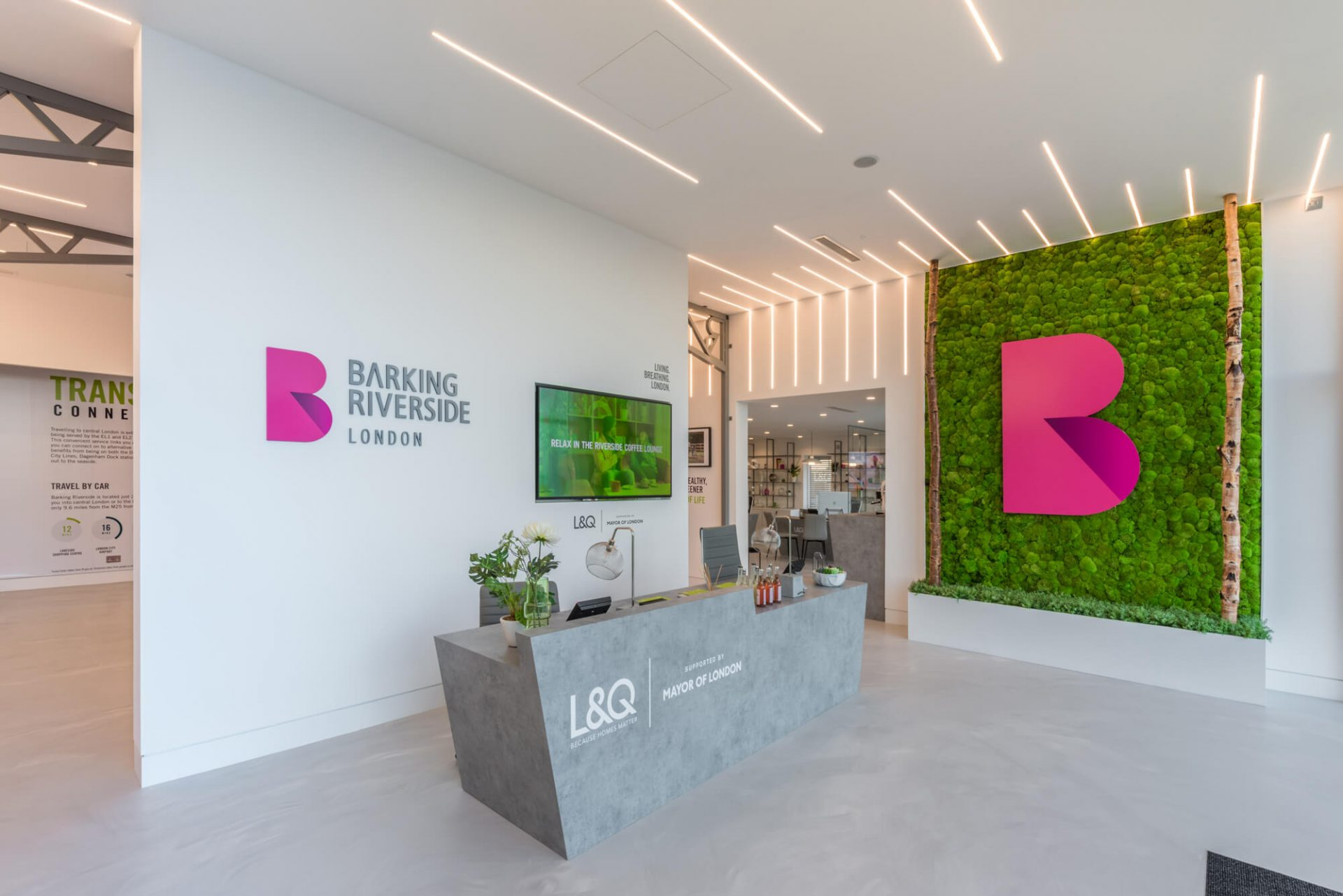 the quirky touches improving the customer journey and customer experience at Barking Riverside marketing suite