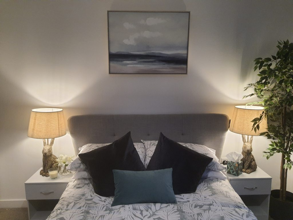 Behind the scenes at Hollyfields' show home and marketing suite